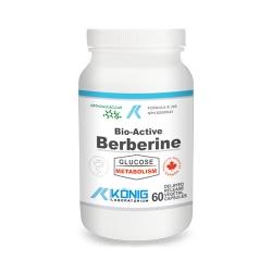Bio-Active Berberine (Berberina) – 60 capsule de origine vegetala cu eliberare intarziata