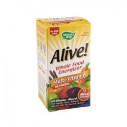 Alive! Fără Fier - Cele mai eficiente vitamine - 30 tablete