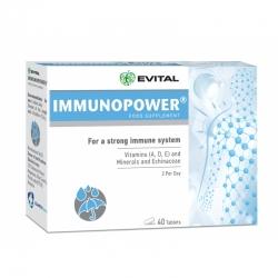 ImmunoPower (40 tablete) - Pentru un sistem imunitar puternic