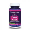 Detox Activ (60 cps.) - util in detoxifierea organismului si reglarea greutatii