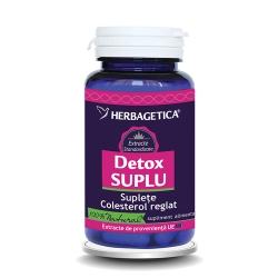 Detox Suplu (200 cps.) - util in pierderea greutatii si scaderea colesterolului