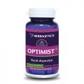 Optimist + (60 capsule) - antidepresiv ce imbunatateste calitatea somnului si calitatile cognitive