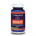 Zeolit (60 cps.) - supliment alimentar cu efect detoxifiant, antioxidant, antiviral si imunostimulator