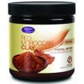 Red Moroccan Clay (Argila rosie marocana) 354g - purifica delicat pielea