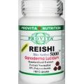 Reishi 180cps - Antitumoral, Anticancerigen, Adaptogen, Imunomodulator Cancer, Hepatita, Ciroza