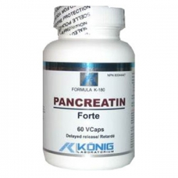 Pancreatin Forte - enzime proteolitice benefice in diabet, fibroza cistica, alergii, cancer, boala celiac