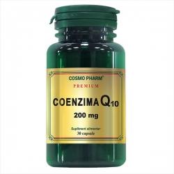 COENZIMA Q10 200 mg -Coenzima tineretii vesnice Cosmopharm