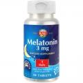 Melatonina 3 mg - neurohormon cu rol in atenuarea tulburarilor de somn