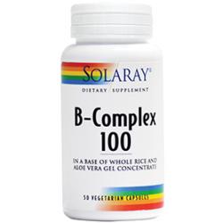 B Complex 100 mg Pret 59.90 lei Formulă completă de vitamine din grupa B în concentraţii optime