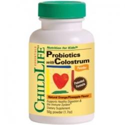 Colostrum cu Probiotice 50g pudra (gust de portocale/ananas)