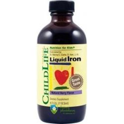 Liquid Iron 10mg- pentru un nivel optim de fier in sange si tesuturi la copii
