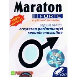 Maraton Forte Pentru performante sexuale masculine 20 capsule