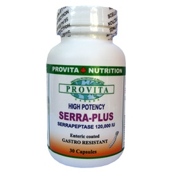Serra Plus - Antiinflamator, Antiedematos, Anticistic, Anti-traumatic