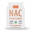 NAC (N-Acetil-Cisteină) 600 mg– supliment alimentar antioxidant şi detoxifiant